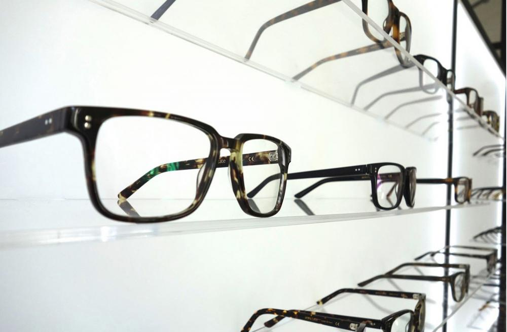 eyeglass frames at austin optometrist